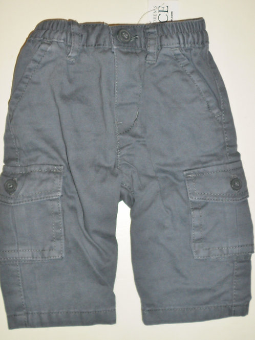 Children's Place pants gray/pockets 0-3 mos