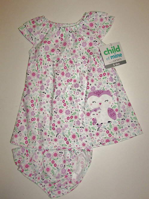 Child of Mine floral size 3-6 mos