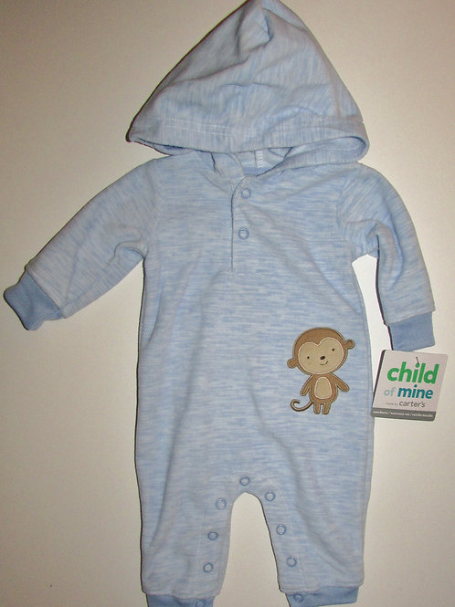 Child of Mine blue/monkey size N