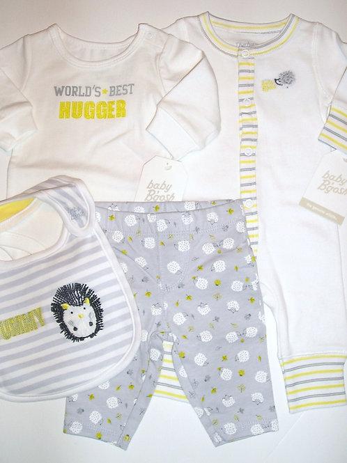 Baby B'Gosh white/gray size N