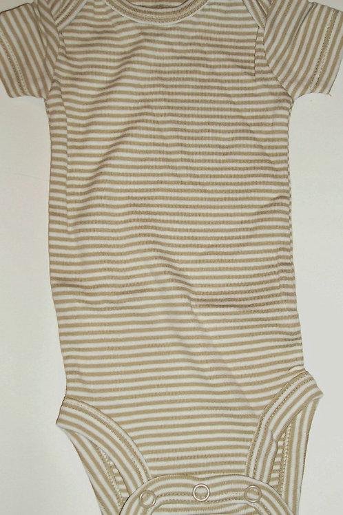 Carters tan/stripe Newborn