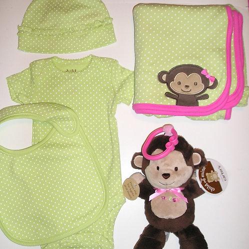 Child of Mine 5 pc set monkey size N