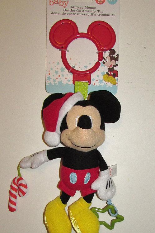 Disney plush Xmas rattle