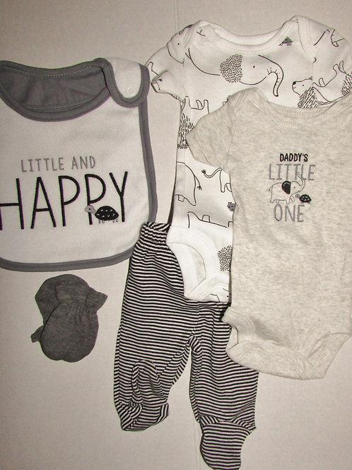 Child of Mine 5 pc set black/white size P