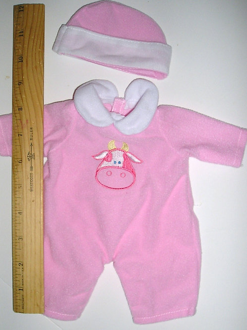 doll outfit 2 pc velour choose style