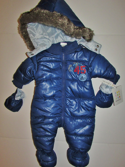 Absorba 'puffy' suit size 0-3 mo