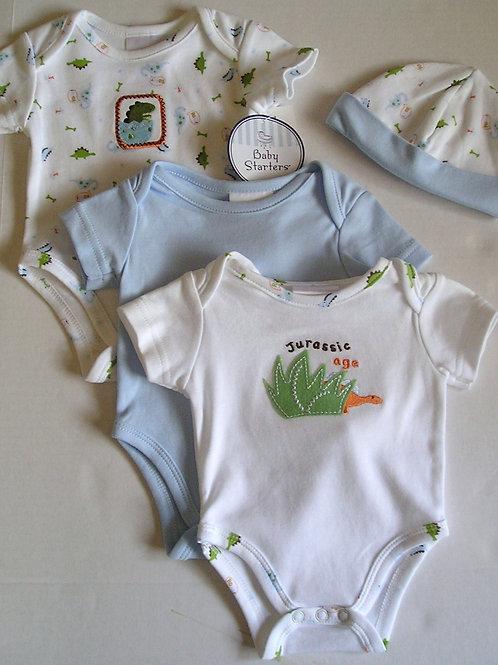 Baby Starters 3 pc Dino set size LP