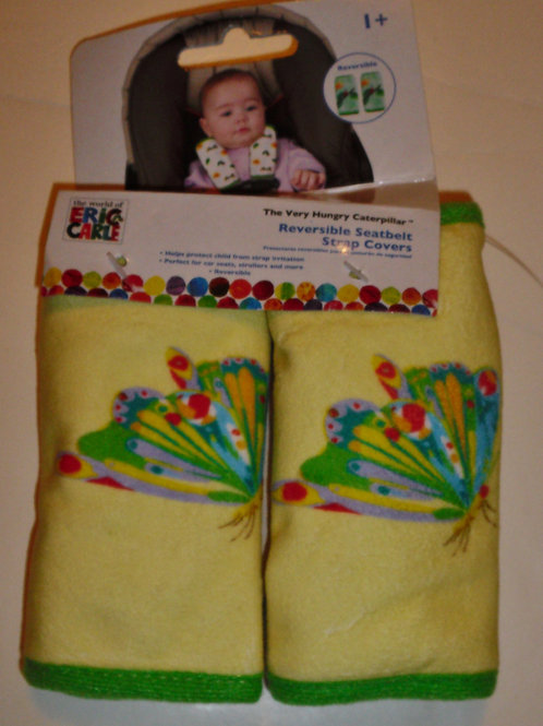 Eric Carl infant strap covers butterfly
