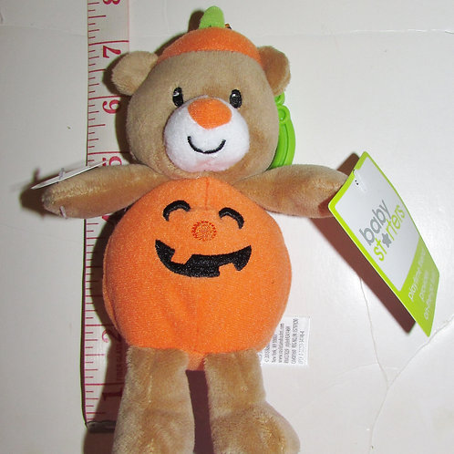 Baby Starters plush bear/pumpkin