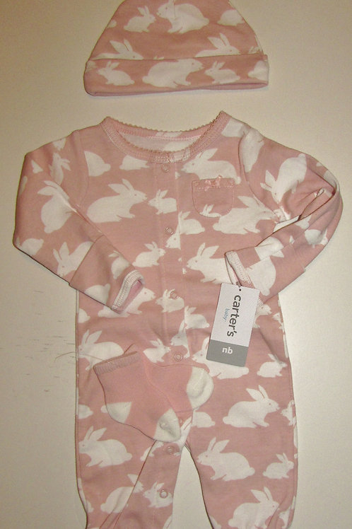Carters set bunny size N