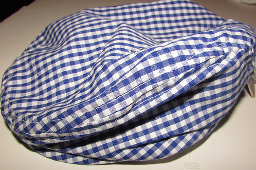 Toby gingham/blue size 0-6 mo