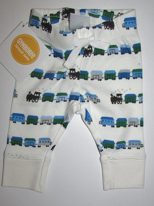 Gymboree white/train size N