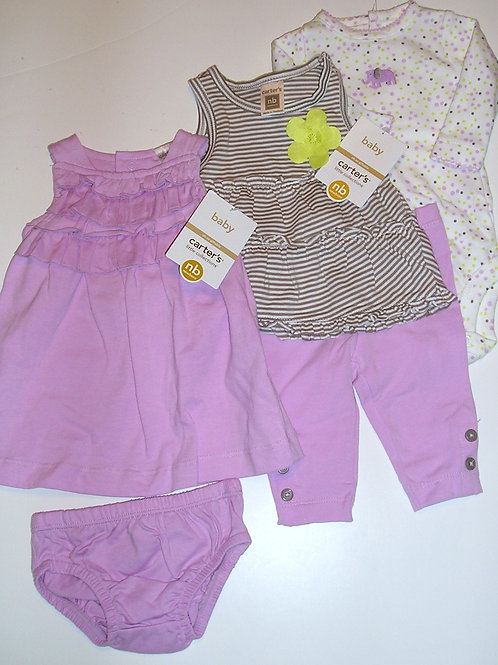 Carters lilac/brown size N