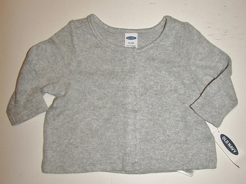 Old Navy cardigan gray size 0-3 mos