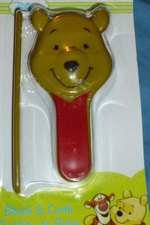 Disney Pooh brush/comb olive