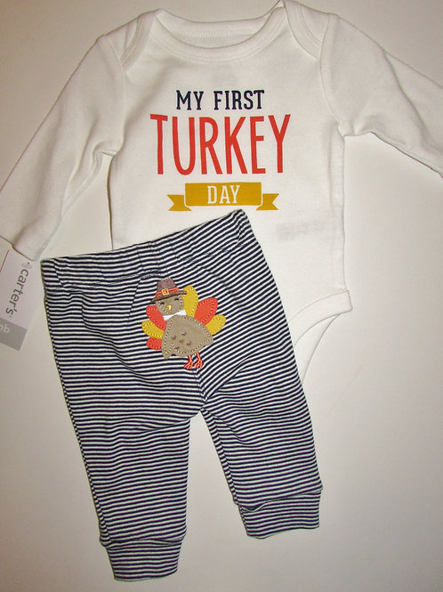 Carters white/black size N