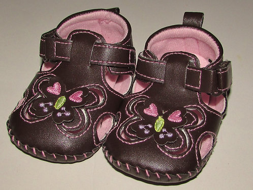 ABG Baby shoe brown size 2