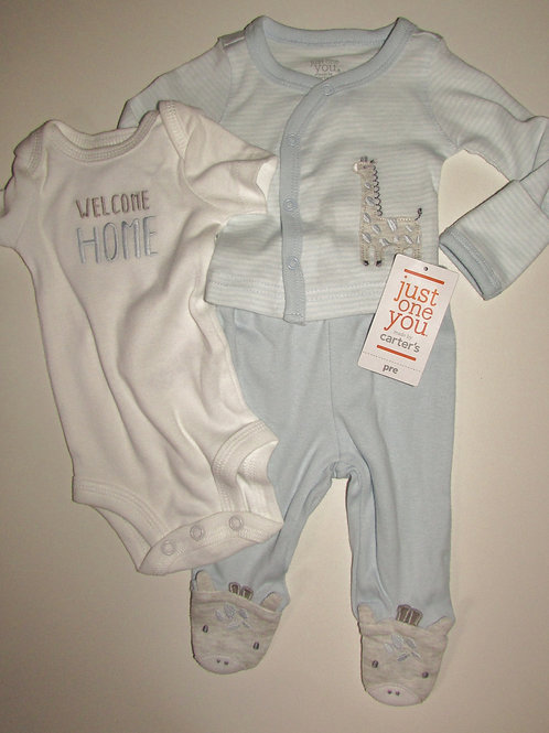 Just One You 3 piece set blue size P