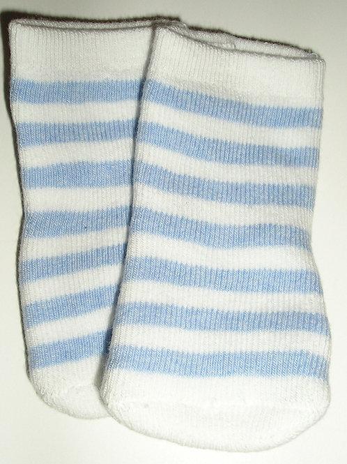 Gymboree socks blue/white size 0-3 mos