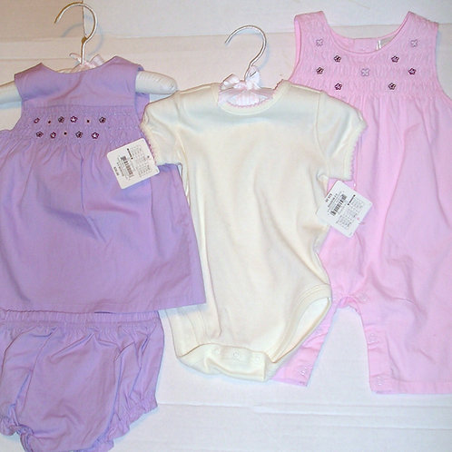 First Moments 4 pc lilac size 0-3 mos