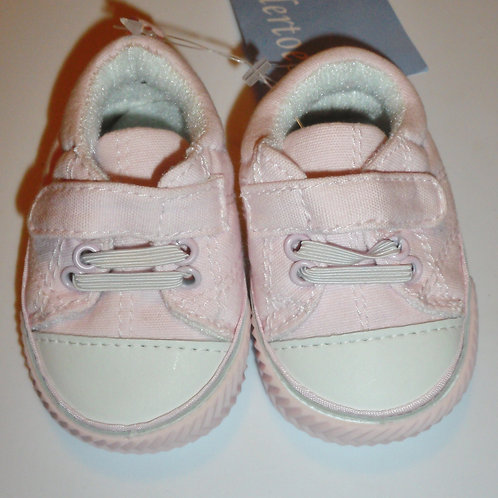 Tender Toes pink/white size 1