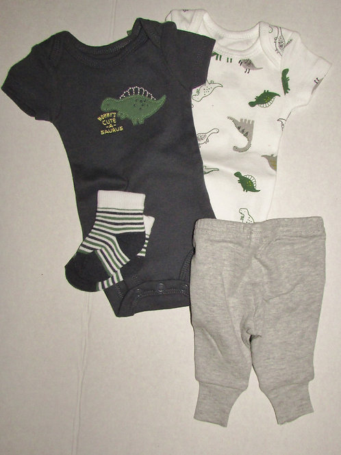 Child of Mine 4 pc set dino size P