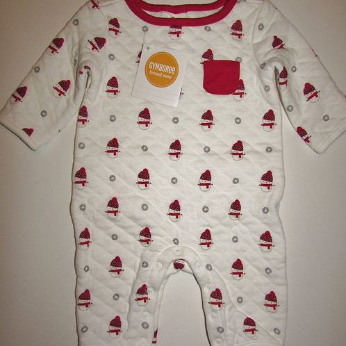 Gymboree white/red size 0-3 mo