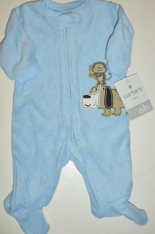 Carters blue/dog size N