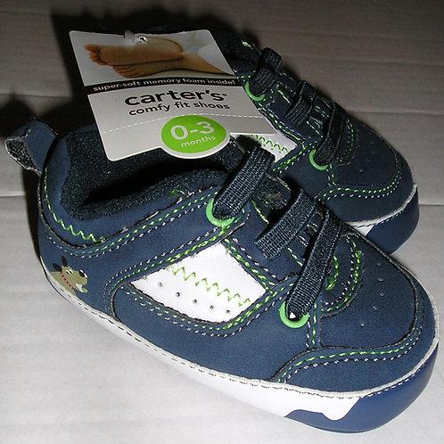 Carters shoe blue/white size 1