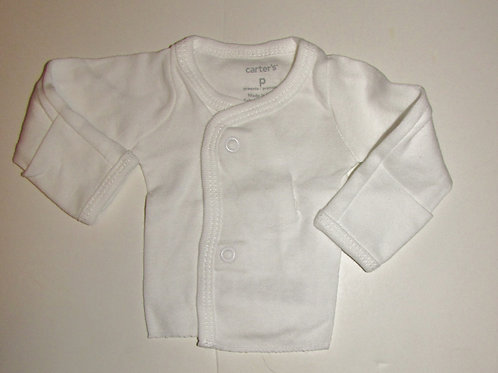 Carters snap tee size P