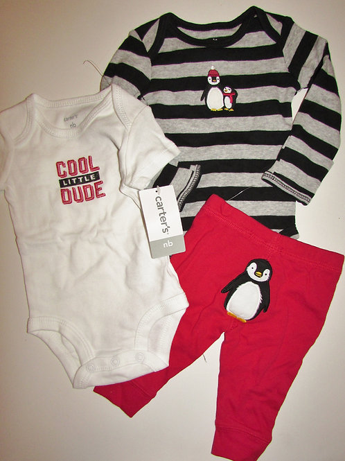 Carters red/black size N