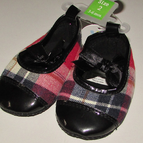 Absorbia shoe plaid size 2