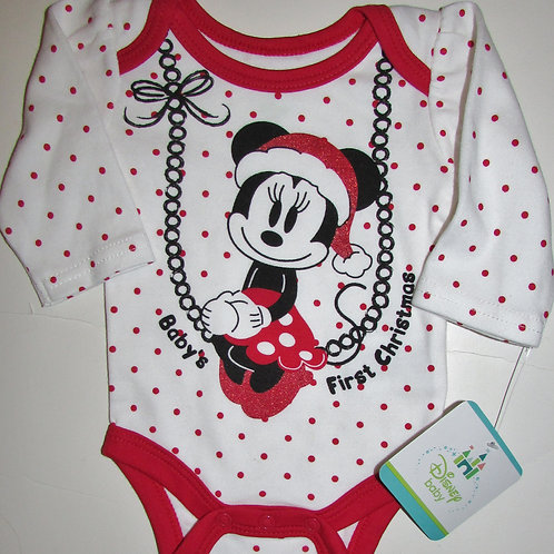 Disney white/red Minnie size N