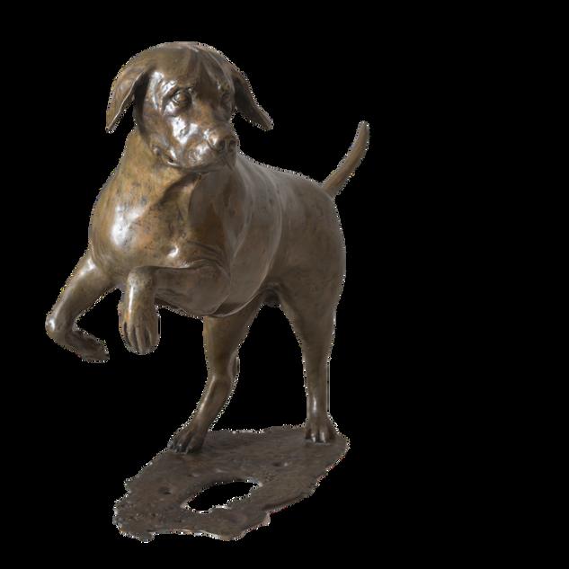 Labrador. Sculpture_