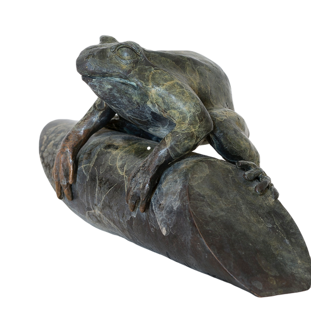 Frog.  Sculpture.