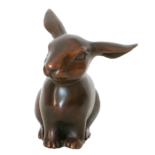 Sitting Rabbit. Sculpture.