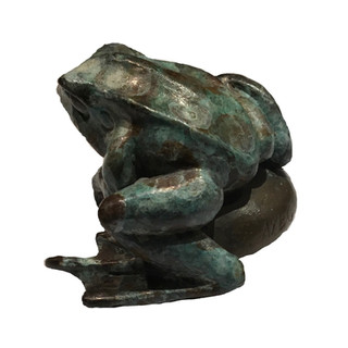 Little Frog. Sculpture.