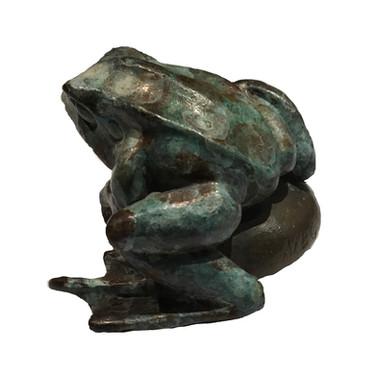 Little Frog. Sculpture.