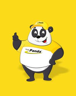 O simpático mascote de uma das maiores redes de postos do sul, nasceu para ajudar na divulgação da marca Rede Panda.
