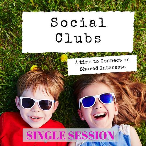Social Club - Single Session