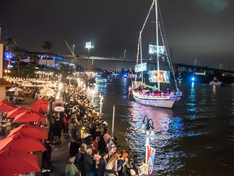History of Yachty Gras, America's Largest Mardi Gras Boat Parade