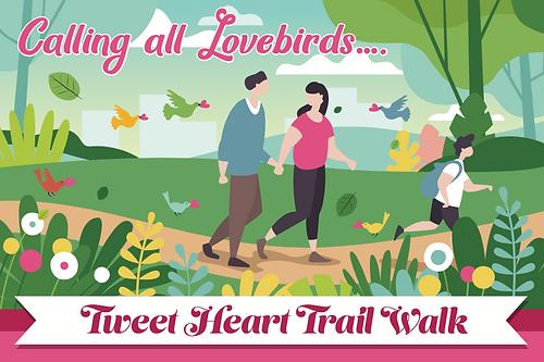 Tweet Heart Trail Walk