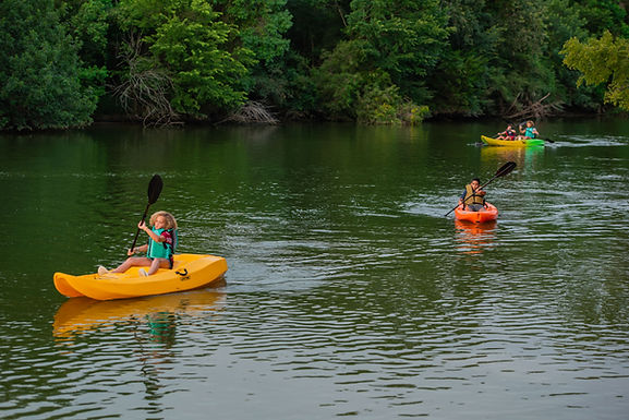 5 Reasons to Kayak on Clear Creek Paddle Trail