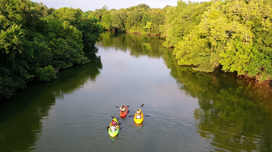 Kayak the Clear Creek Paddle Trail