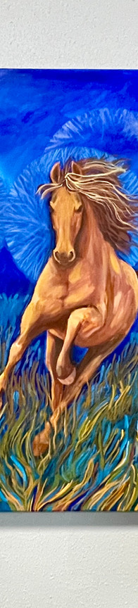 """Three Horses Running"""