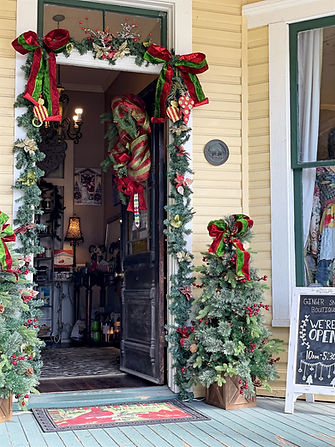 League City Christmas Boutique Shopping