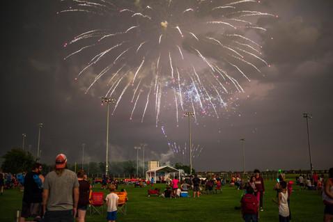 Enjoy a fantastic fireworks show.