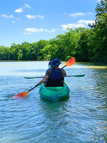 Kayaking the Clear Creek Paddle Trail