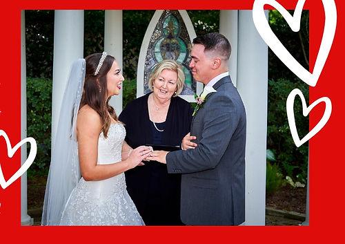 Butler's Courtyard Valentine's Weddings