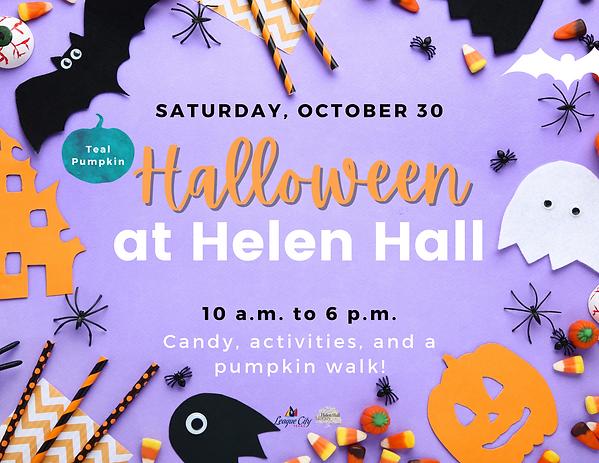 Helen Hall Halloween